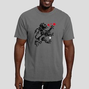 Lion Black Mens Comfort Colors Shirt