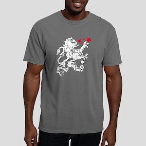Lion white Mens Comfort Colors Shirt