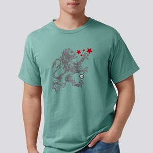 Lion Grey Mens Comfort Colors Shirt