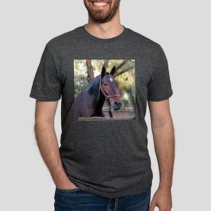 horseclockB Mens Tri-blend T-Shirt