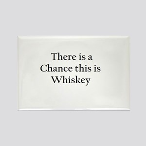 There is a Chance this is Whiskey Mug Rectangle Ma