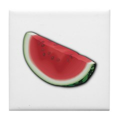 Watermelon Slice Tile Coaster