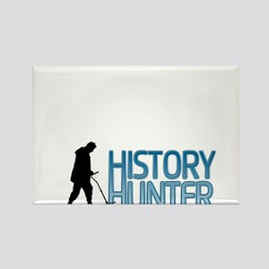 History Hunter Rectangle Magnet
