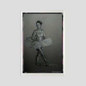 Ballerina! Ballet, dance art! Rectangle Magnet