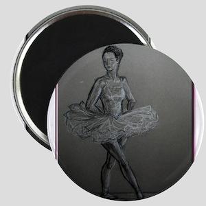 Ballerina! Ballet, dance art! Magnet