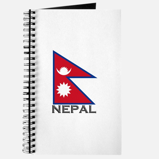Nepal Flag Stuff Journal