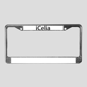 iCelia License Plate Frame