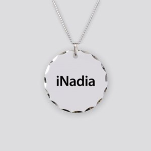 iNadia Necklace Circle Charm