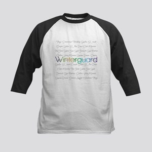 Winterguard Kids Baseball Jersey