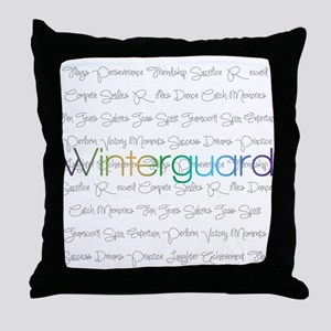 Winterguard Throw Pillow