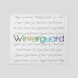 Winterguard Throw Blanket