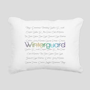 Winterguard Rectangular Canvas Pillow