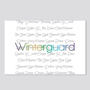 Winterguard Postcards (Package of 8)