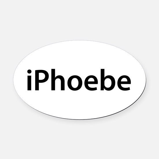 iPhoebe Oval Car Magnet
