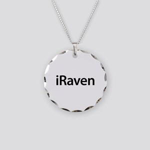 iRaven Necklace Circle Charm