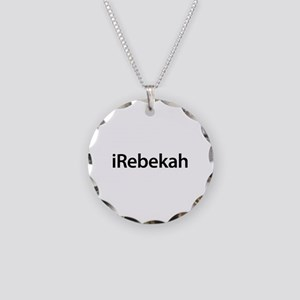 iRebekah Necklace Circle Charm