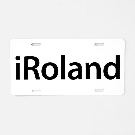 iRoland Aluminum License Plate