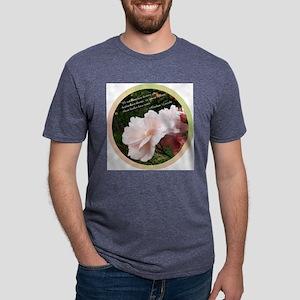 Rose_Lincoln_Circle Mens Tri-blend T-Shirt