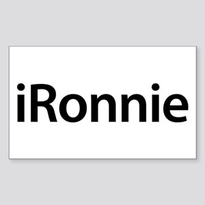 iRonnie Rectangle Sticker