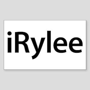 iRylee Rectangle Sticker