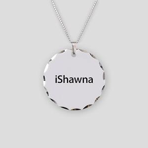 iShawna Necklace Circle Charm