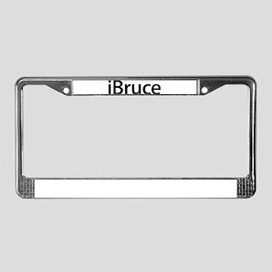 iBruce License Plate Frame