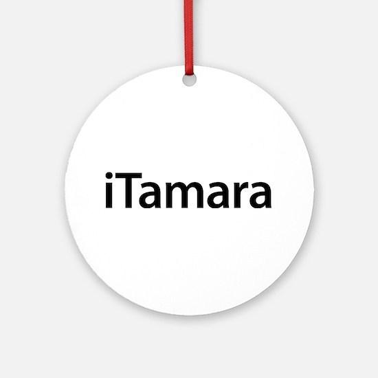 iTamara Round Ornament