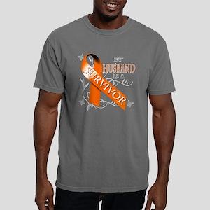My Husband is a Survivor Mens Comfort Colors Shirt