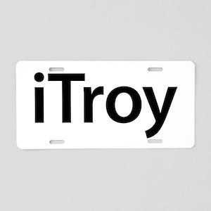 iTroy Aluminum License Plate