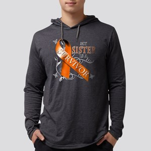 My Sister is a Survivor Mens Hooded Shirt