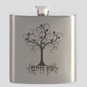 Hebrew Tree of Life Flask