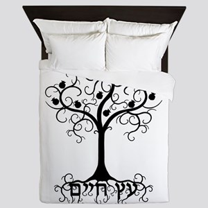 Hebrew Tree of Life Queen Duvet