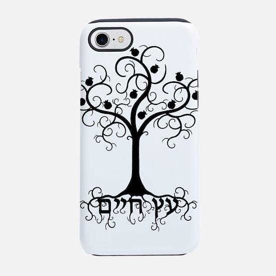 Hebrew Tree of Life iPhone 7 Tough Case