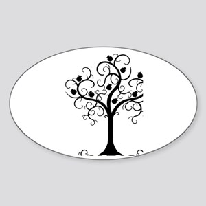 Hebrew Tree of Life Sticker