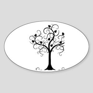 Hebrew Tree of Life Sticker