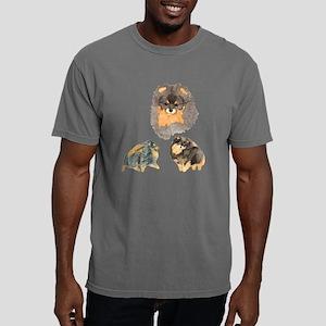 Black  Tan Collage Mens Comfort Colors Shirt