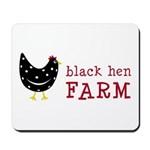 Black Hen Farm Mousepad