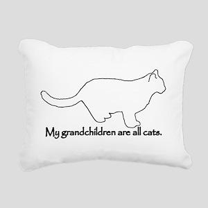 Grandchildren are all Cats Rectangular Canvas Pill