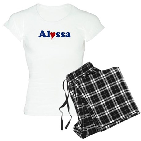 Alyssa with Heart Women's Light Pajamas