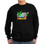 Pirate Santa sez YoHoHo Sweatshirt (dark)