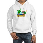 Pirate Santa sez YoHoHo Hooded Sweatshirt