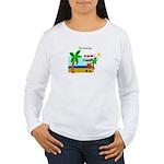Pirate Santa sez YoHoHo Women's Long Sleeve T-Shir