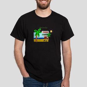 Pirate Santa sez YoHoHo Dark T-Shirt