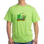 Pirate Santa sez YoHoHo Green T-Shirt