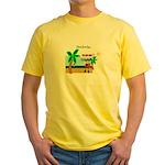 Pirate Santa sez YoHoHo Yellow T-Shirt