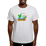 Pirate Santa sez YoHoHo Light T-Shirt