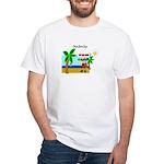 Pirate Santa sez YoHoHo White T-Shirt
