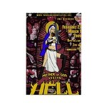 The Mother of God Visits Hell Rectangle Magnet