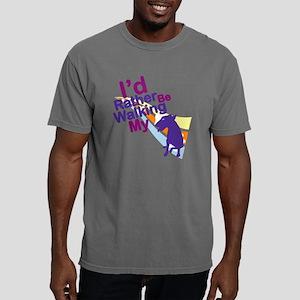 miniature bull terrierV. Mens Comfort Colors Shirt