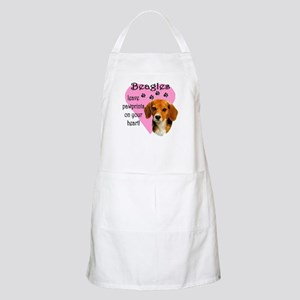 Beagle Pawprints 2 Apron